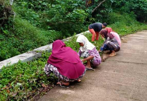 Ahad Bersih Desa Jati